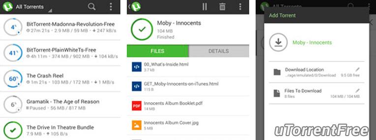 Скачать uTorrent для Android