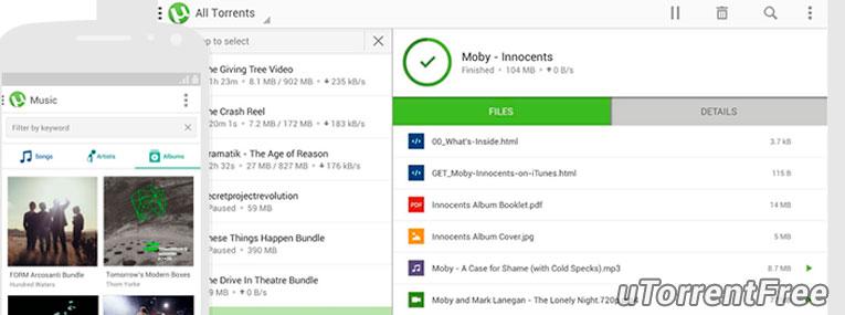 uTorrent для Android бесплатно