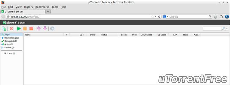 uTorrent для Linux
